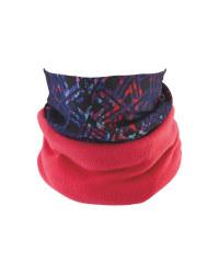Adults Pink Reversible Headwear