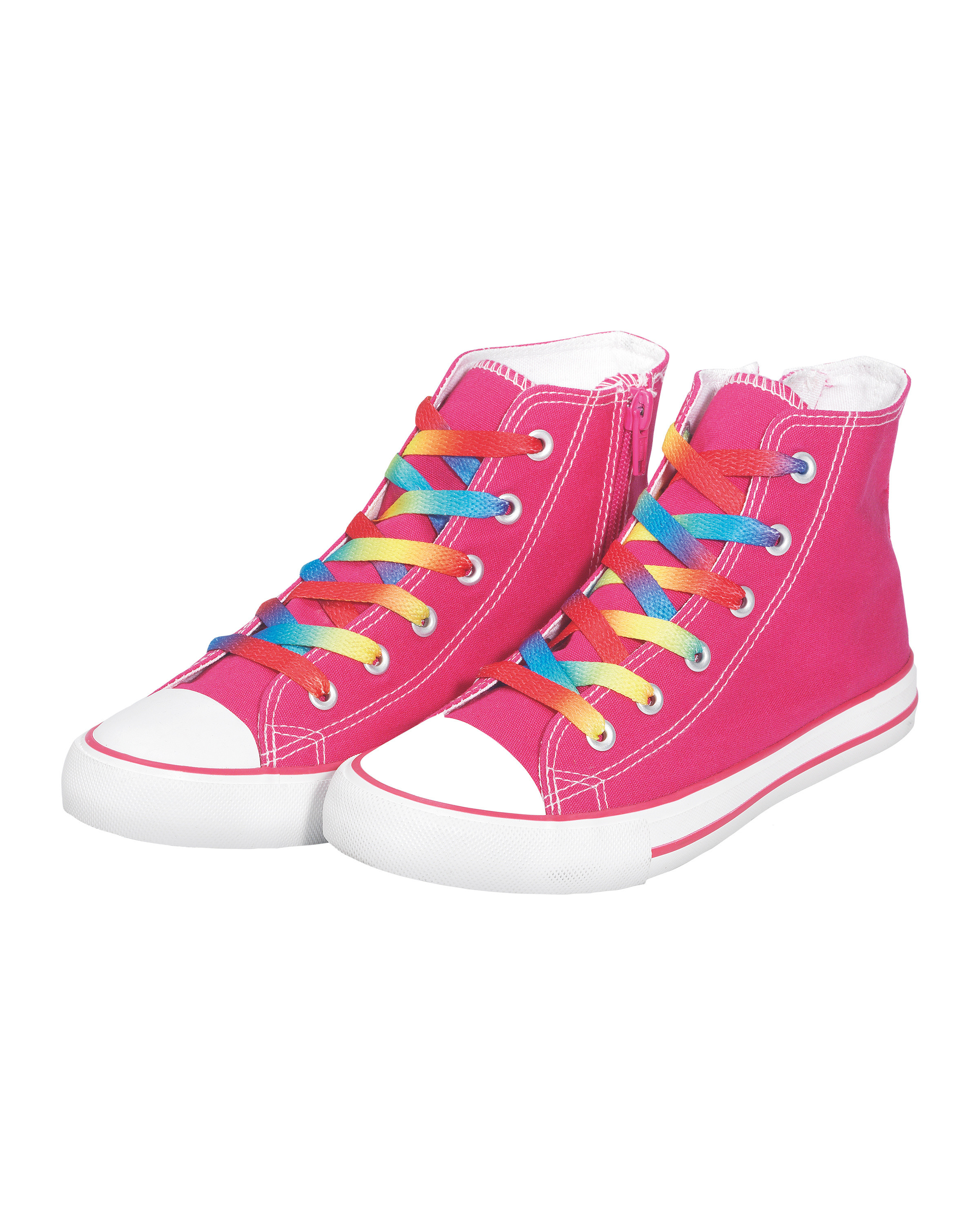 Pink Canvas Trainers