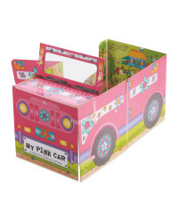 Pink Car Convertible Board Book