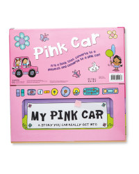 Pink Car Convertible Book