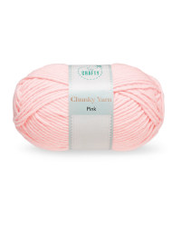 So Crafty Pink Chunky Yarn