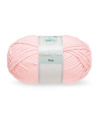 So Crafty Pink Chunky Yarn