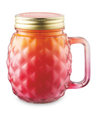 Pink Citronella Candle