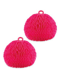 Pink Giant Jiggly Balls 2 Pack