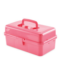So Crafty Pink Hobby Storage Case