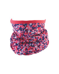 Kids' Pink Reversible Neck Warmer