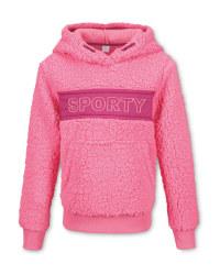 Crane Children's Pink Ski Hoody