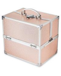 Avenue Pink Glitter Vanity Case