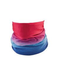 Adults Pink/Blue Jersey Headwear