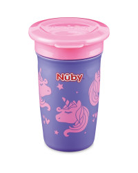 Pink/Purple Nuby Maxi 360° Sippy Cup