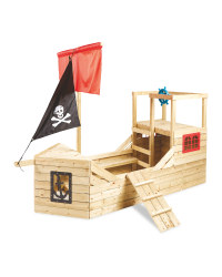 Pirate Galleon Wooden Playhouse