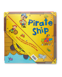 Pirate Ship Convertible Book
