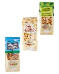 Pistachios, Cashews & Walnuts