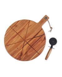 Kirkton House Pizza Board & Cutter