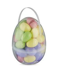 Plastic Easter Egg Hunt Set