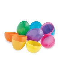 Plastic Easter Eggs 18-Pack