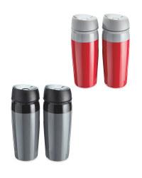 Plastic Travel Mug 2-Pack