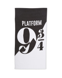 Platform 9 3/4 Licensed Beach Towel