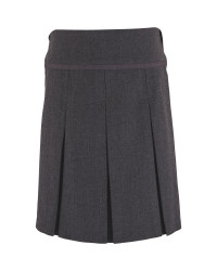 Lily & Dan Pleated Skirt - Grey