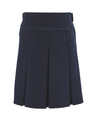 Lily & Dan Pleated Skirt - Navy