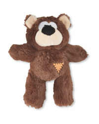 Plush Bear Dog Toy