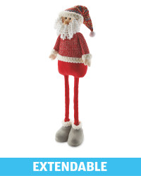 Perfect Christmas Plush Santa