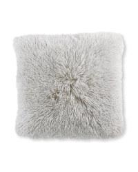 Kirkton House Plush Cushion - Light Grey
