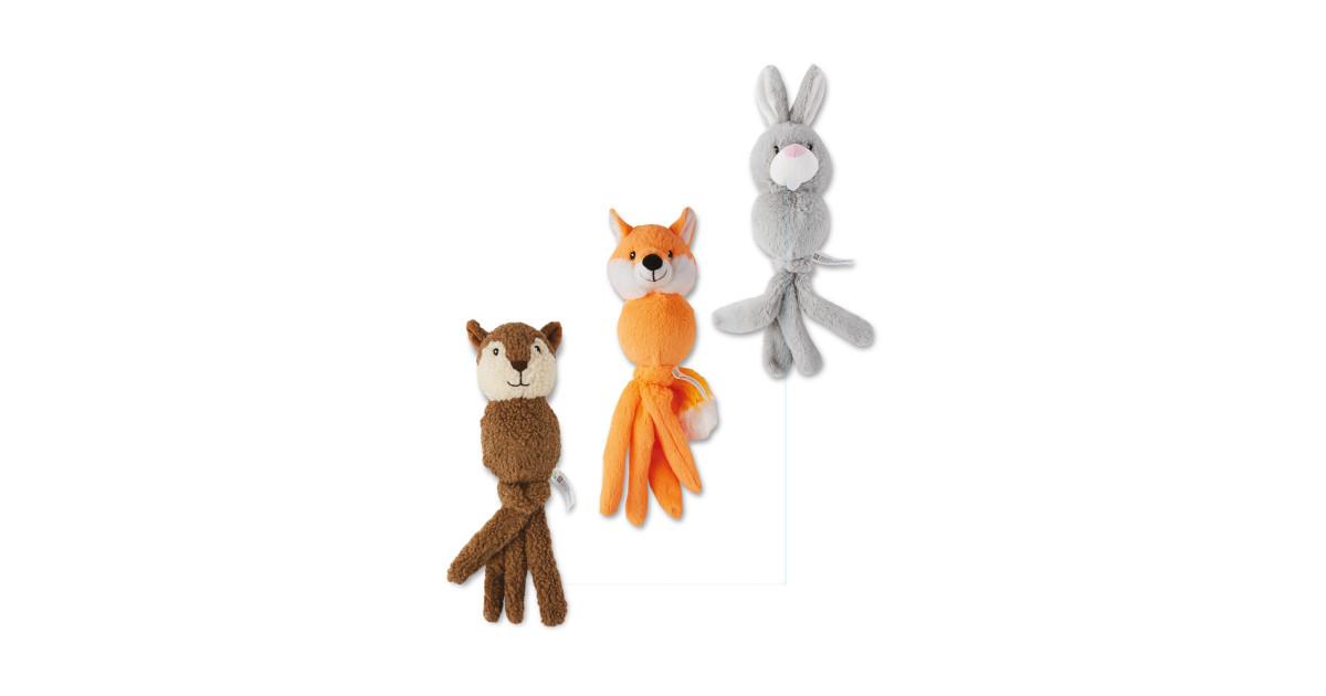 Set Of Dog Stuffed Animals, Dogtopus Plush Dog Toy Set Aldi Uk