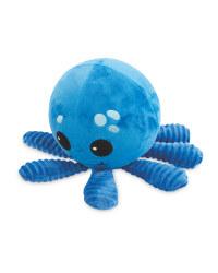 Plush Footbal Octopus Dog Toy