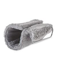 Plush Radiator Bed - Grey