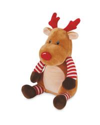 Plush Rudolph Character