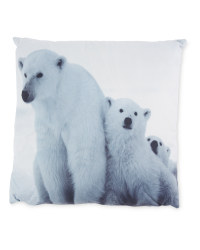 Kirkton House Polar Bear Cushion