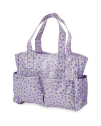 Polka Dot Craft Bag