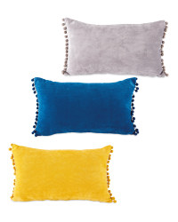 Kirkton House Pom Pom Cushion