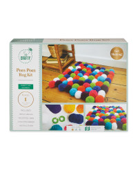 So Crafty Pom Pom Rug Kit