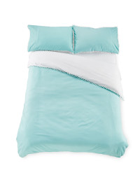 Pom Poms Double Duvet Set