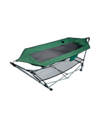 Portable Hammock with Stand - Green