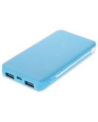 Portable Power Bank - Blue