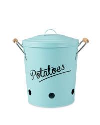 Potato Storage Canister - Green