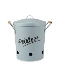 Potato Storage Canister - Grey
