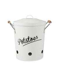 Potato Storage Canister - Off White