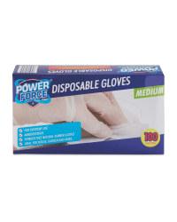 Power Force Disposable Gloves Medium