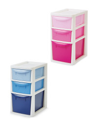 Premier Small Ombre 3 Drawer Tower