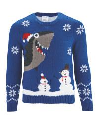 Premium Shark Christmas Jumper