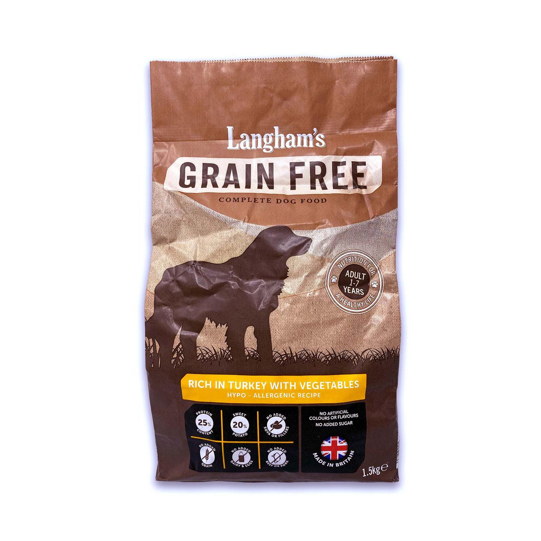 Grain Free - Turkey With Veg