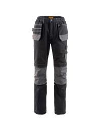 "Premium Holster Work Trousers 33"" - Black/Grey"