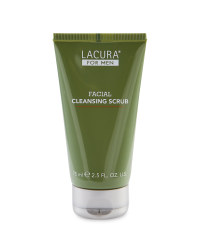 Lacura Men's Facial Cleansing Scrub