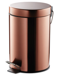 Premium Soft Close 3L Bathroom Bin - Copper