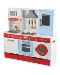 Premium Wooden Toy Kitchen