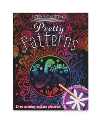 Pretty Patterns Scratch & Stencil